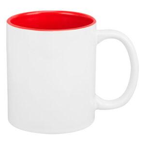 TAZ 036 R taza para sublimar panaji color rojo