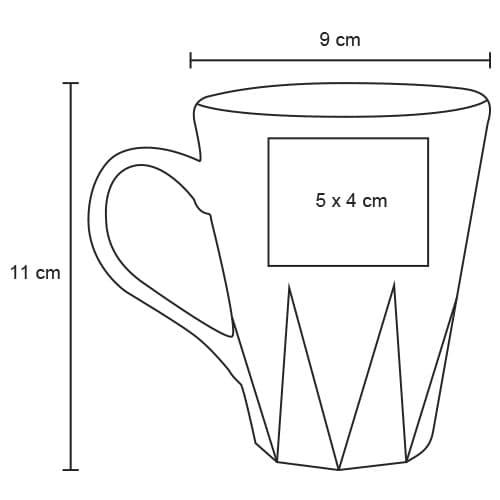 Taza de cerámica con apariencia-7