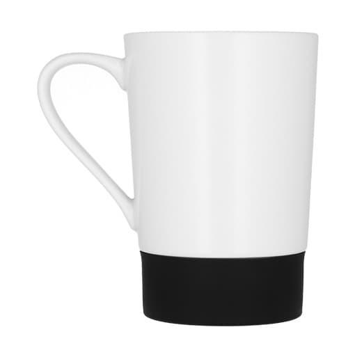 Taza de cerámica con cintillo de silicón-2