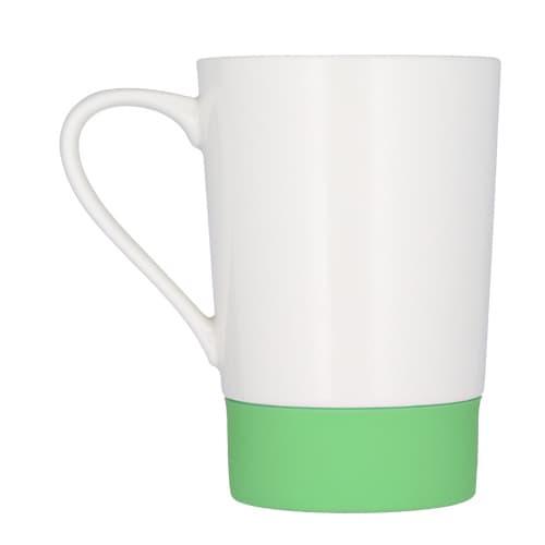 Taza de cerámica con cintillo de silicón-4