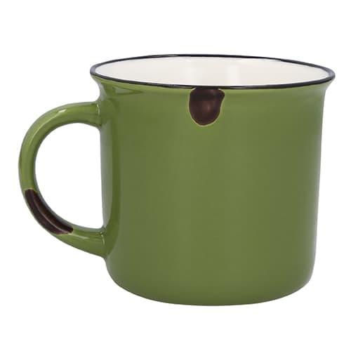 Taza de cerámica estilo vintage.-3