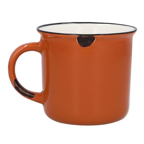 Taza de cerámica estilo vintage.-4