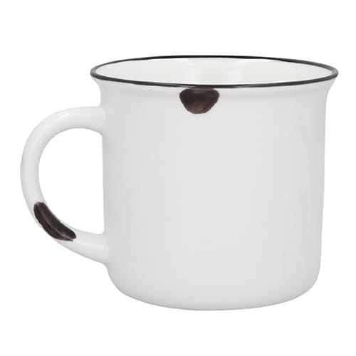 Taza de cerámica estilo vintage.-5
