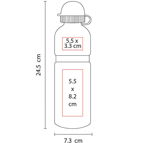 TMPS 101 R cilindro interlaken color rojo 2