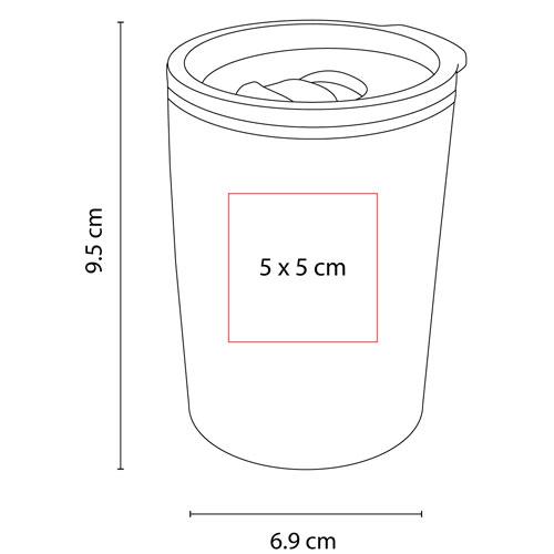 TMPS 110 G termo niza color gris 2