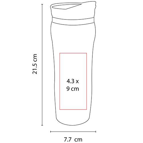 TMPS 23 T termo bangkok color transparente 2