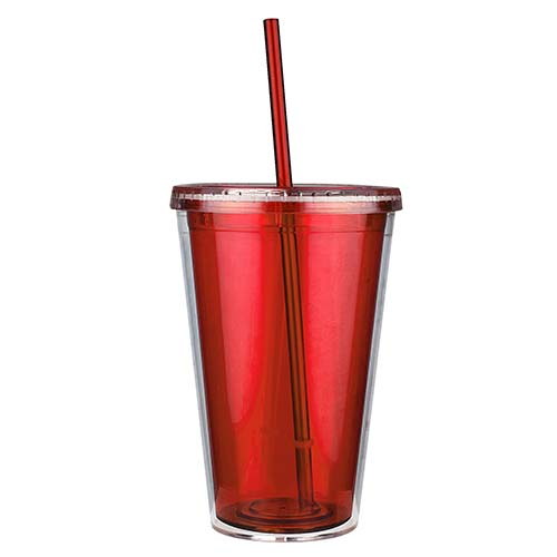 TMPS 24 R vaso embassy color rojo 1