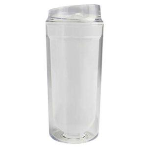 TMPS 27 B vaso logam color blanco