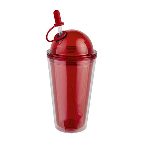 TMPS 73 R vaso howth color rojo