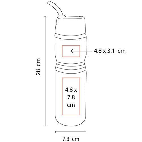 TMPS 80 R cilindro owen color rojo mate 4