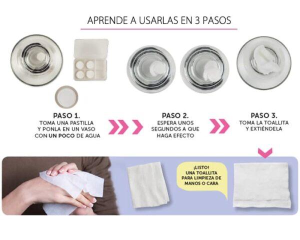 Toallitas Pill Towel A2243 DOBLEVELA 1,