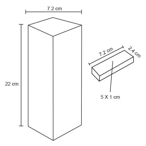 Torre con 54 bloques de madera.-2
