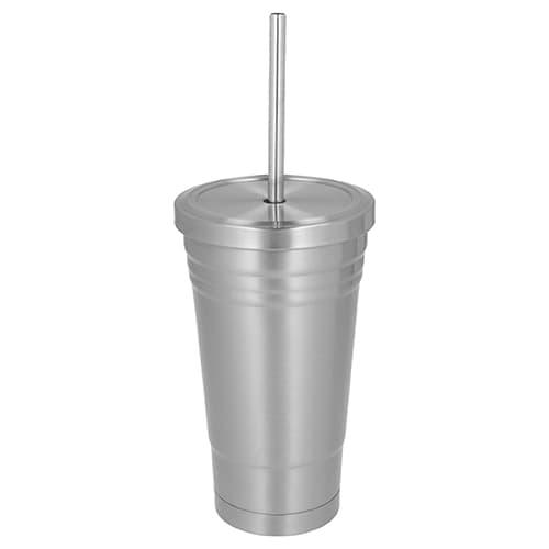 Vaso de acero inoxidable con doble-2